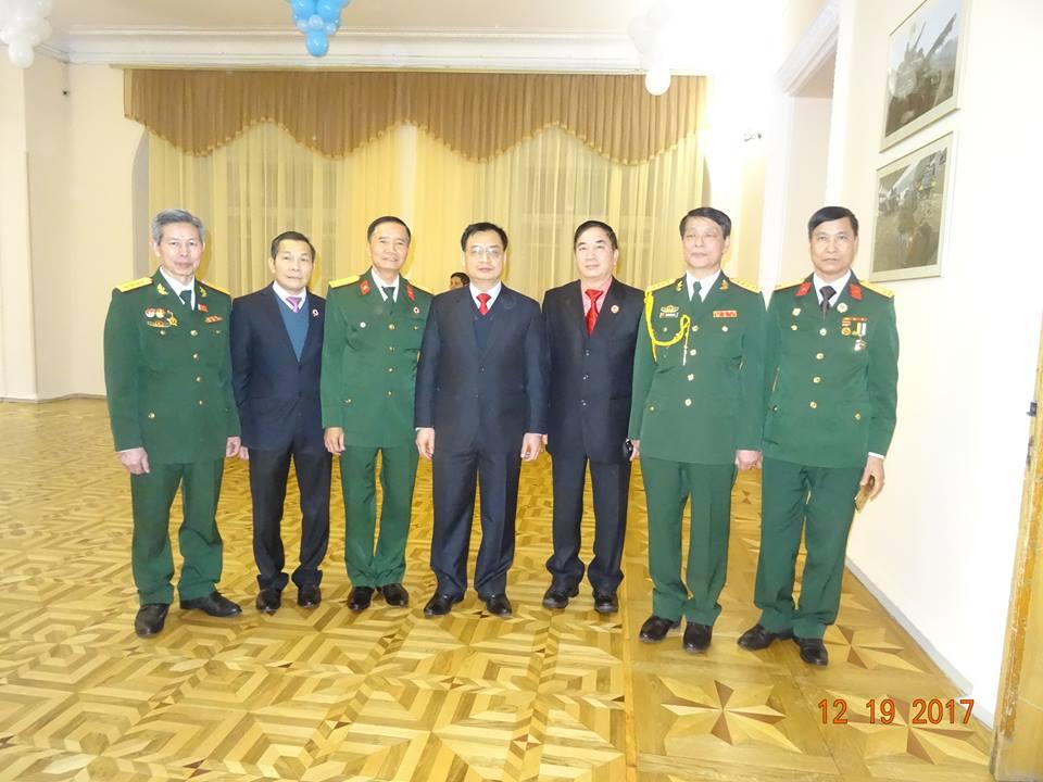 Lễ Kỷ niệm Ngày thành lập Quân đội Nhân dân Việt Nam tại Kiev