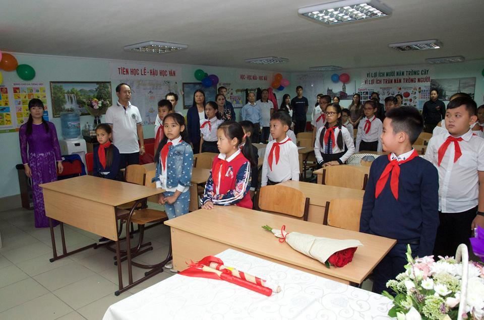Khai giảng lớp tiếng Việt tại Odessa