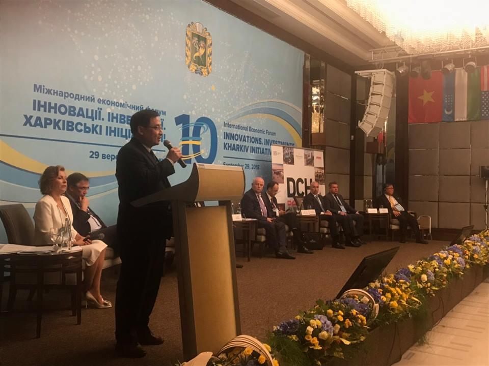Đại sứ Việt Nam thăm và làm việc tại tỉnh Kharkiv