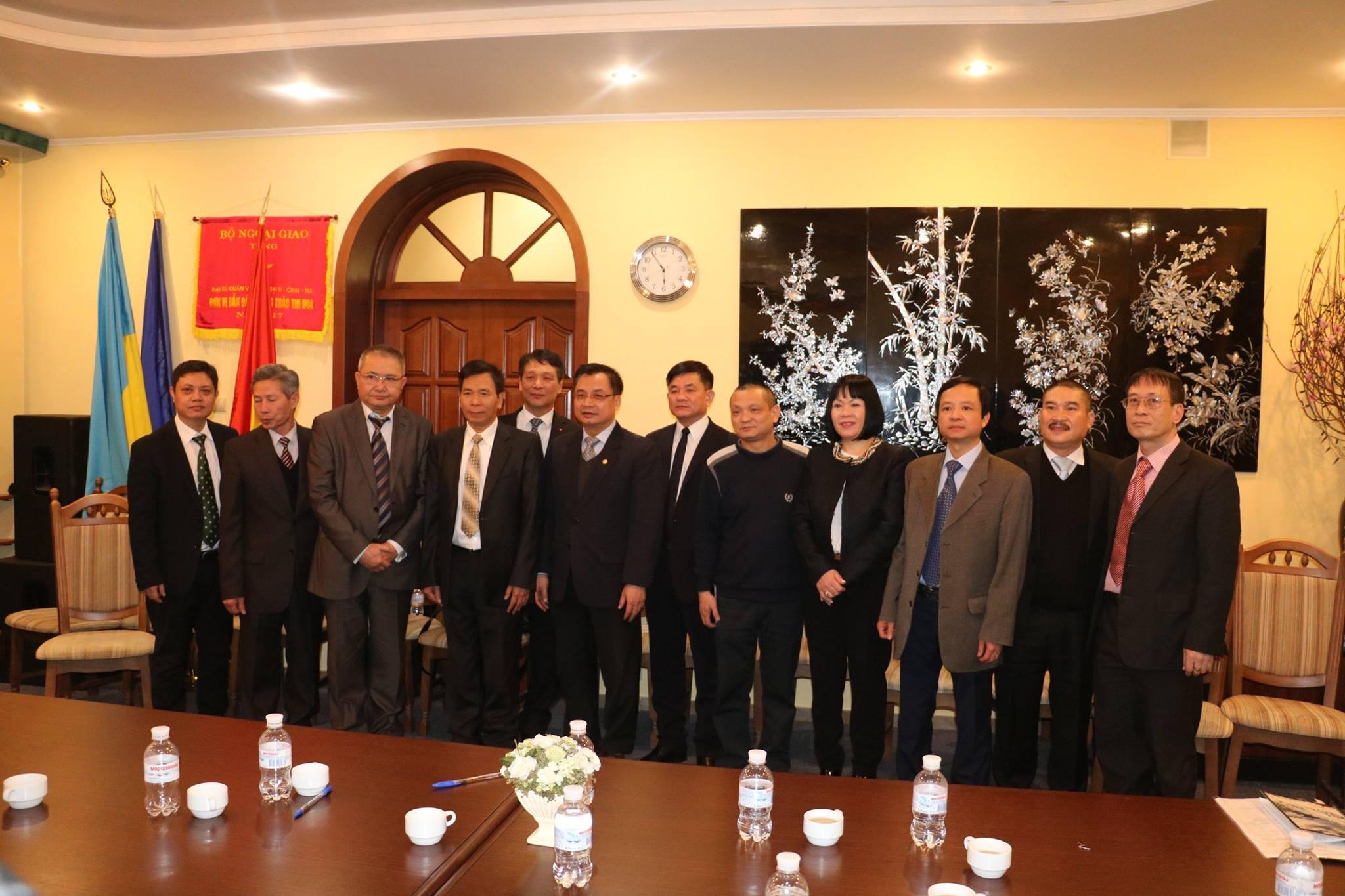 Hội nghị cán bộ chủ chốt cộng đồng người Việt Nam toàn Ucraina năm 2019