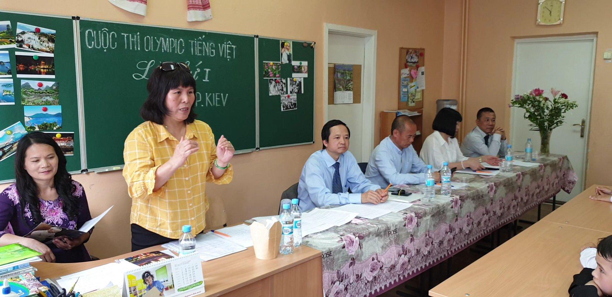 Cuộc thi Olympic tiếng Việt đầu tiên tại Kyiv - Ucraina