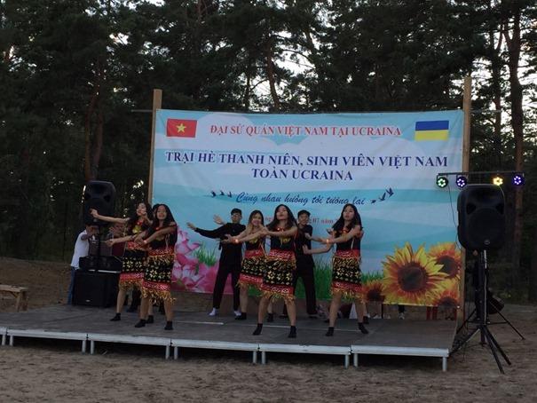 Trại hè thanh niên-sinh viên Việt Nam toàn Ucraina 2019