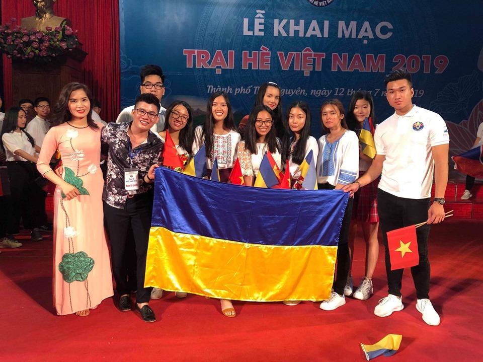 Cảm xúc Trại hè Việt Nam 2019